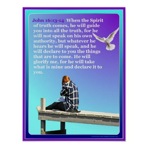 God On The Dock Inspirational Poster
