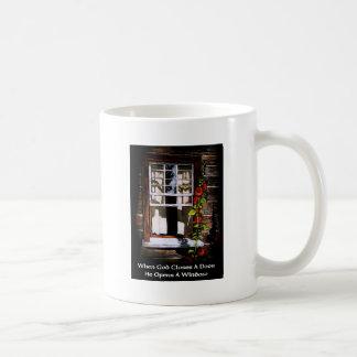 GOD OPENS A WINDOW / FINE ART COFFEE MUG