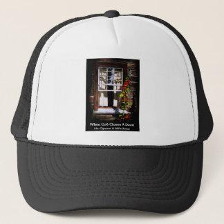 GOD OPENS A WINDOW / FINE ART TRUCKER HAT