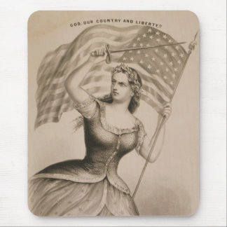 God, Our Country and Liberty!! Mouse Pad