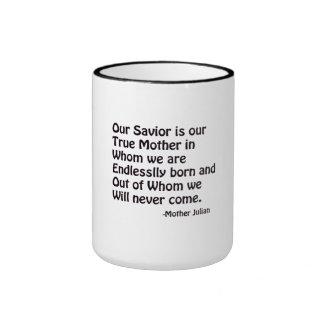 God our Mother Ringer Mug