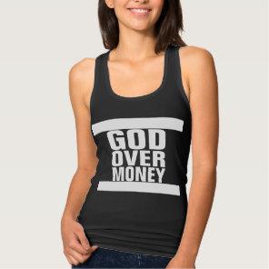 God over Money Tank Top