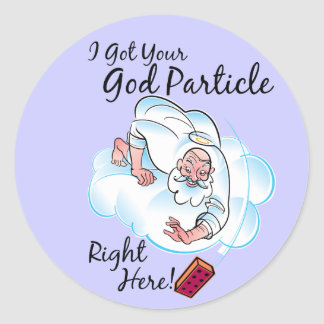 God Particle Stickers