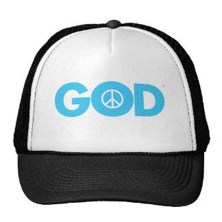 God Peace Mesh Hat
