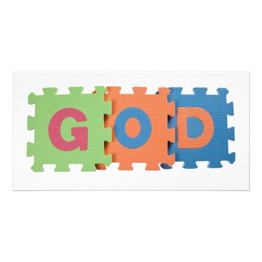 GOD PHOTO CARD