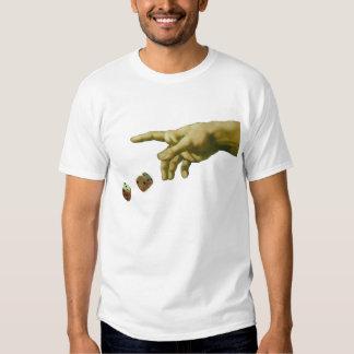 God plays dice t-shirt