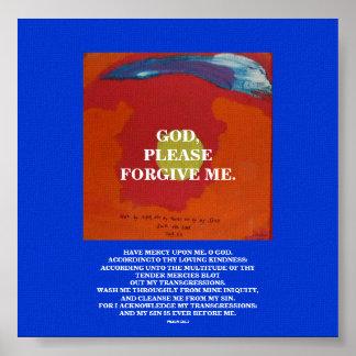GOD, PLEASE FORGIVE ME POSTER