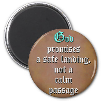 God Promises 2 Inch Round Magnet