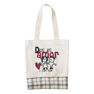 God purse is Love Zazzle HEART Tote Bag