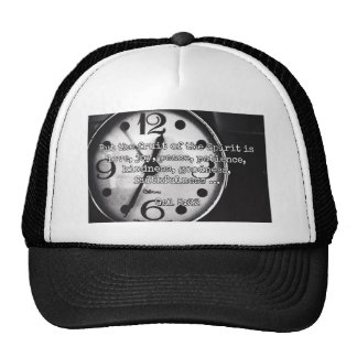 """God Quotes: Gal 5:22 -- """"Fruit of the Spirit"""" Trucker Hat"""