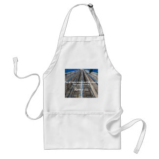 """God Quotes: Rom 3:23 -- """"All Have Sinned"""" Adult Apron"""