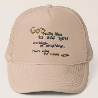 God really likes... trucker hat