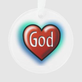 God Red Heart