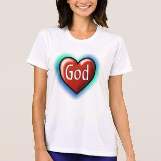 God Red Heart Tshirt