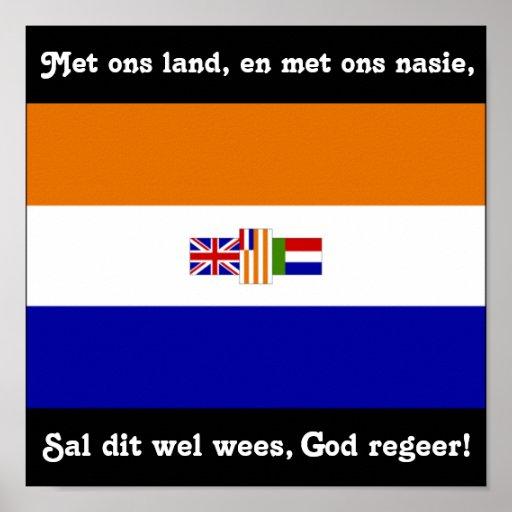 God Regeer! Posters