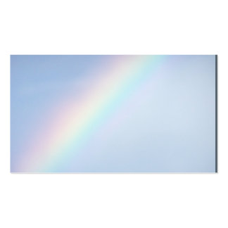 God reminder on earth, Colorful Rainbow Business Card