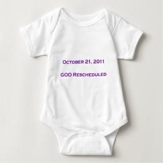 GOD Rescheduled! Baby Bodysuit