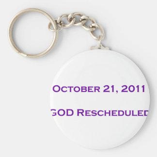 GOD Rescheduled! Key Chains