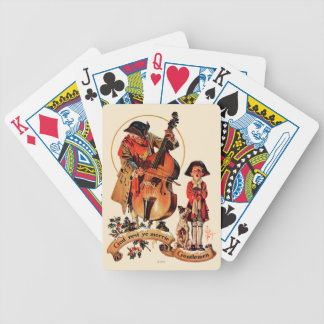 God Rest Ye Merrie Gentlemen Bicycle Playing Cards