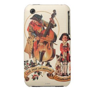 God Rest Ye Merrie Gentlemen iPhone 3 Case-Mate Cases