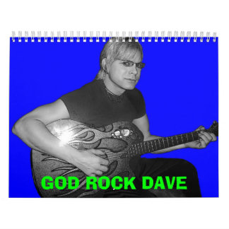 GOD ROCK MINISTRIES CALENDER CALENDAR