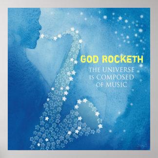 God Rocketh Poster