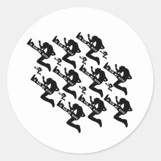 God Rocks - Chrisitan Rock Gear! Classic Round Sticker