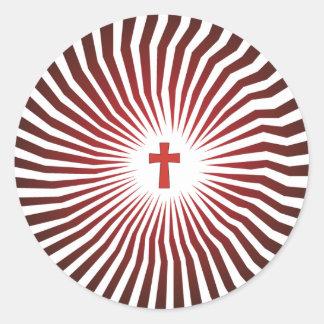 God Rocks - Christian Rock Gear Classic Round Sticker