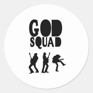 God Rocks - Christian Rock Gear! Classic Round Sticker