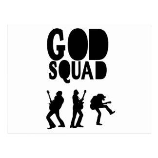 God Rocks - Christian Rock Gear! Postcard