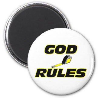 God Rules Christian Gift Refrigerator Magnets