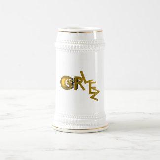 God Rulez_Cup 18 Oz Beer Stein