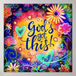 """God's Got This"" Inspirivity Poster"