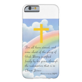 God s Love with Gold_Colored Cross iPhone 6 case