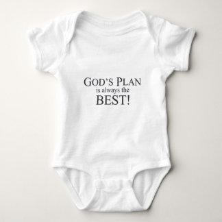 God's Plan is the Best Plan Baby Bodysuit
