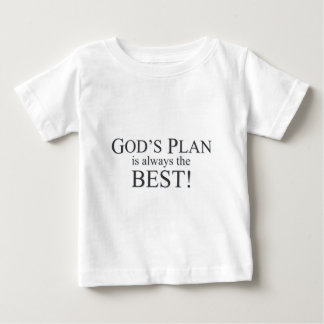 God's Plan is the Best Plan Baby T-Shirt