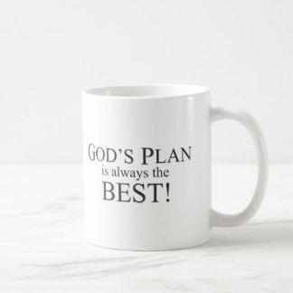 God's Plan is the Best Plan Coffee Mug