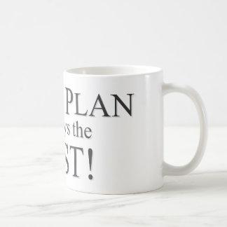 God's Plan is the Best Plan Coffee Mugs