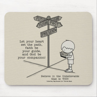God's Your Companion Mouse Pad