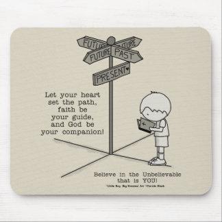 God's Your Companion Mouse Pad