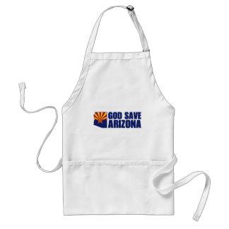 God Save Arizona Adult Apron
