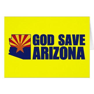 God Save Arizona Card