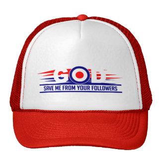 GOD SAVE ME hat - choose color