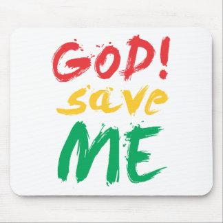 god! save me mouse pad
