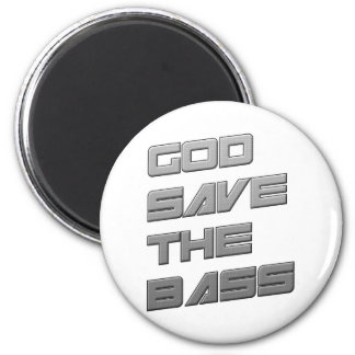 GOD SAVE THE BASS Dubstep Electro Magnet