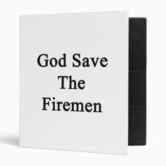 God Save The Firemen Binders