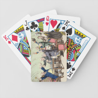 God Save the King, by a new set of performers, bei Bicycle Playing Cards
