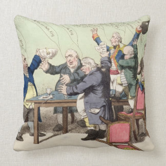 God Save the King, by a new set of performers, bei Throw Pillow