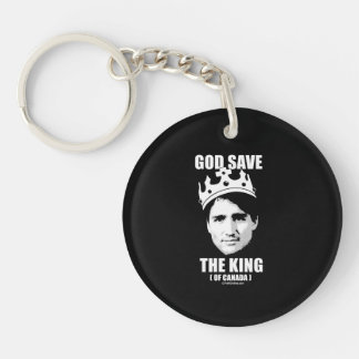 God Save the King of Canada -.png Keychain