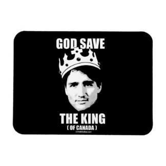 God Save the King of Canada -.png Magnet